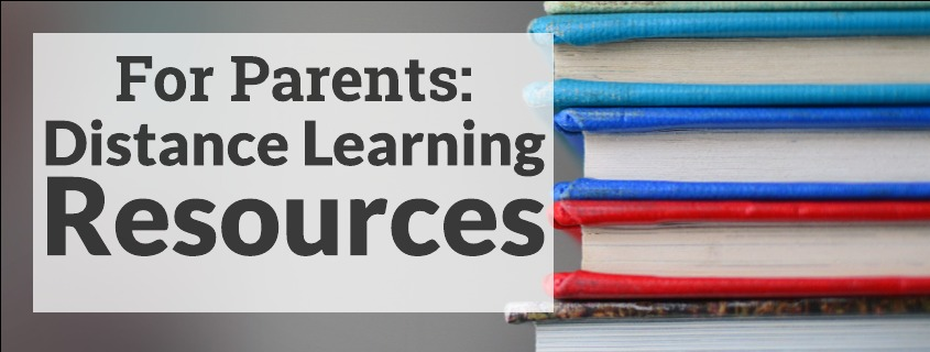 Distance Learning Resources for Parents – Everyone Home DC